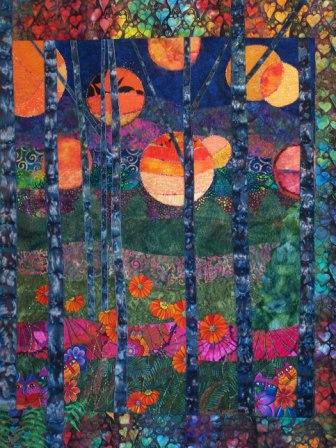 Landscape Art Quilts Patterns