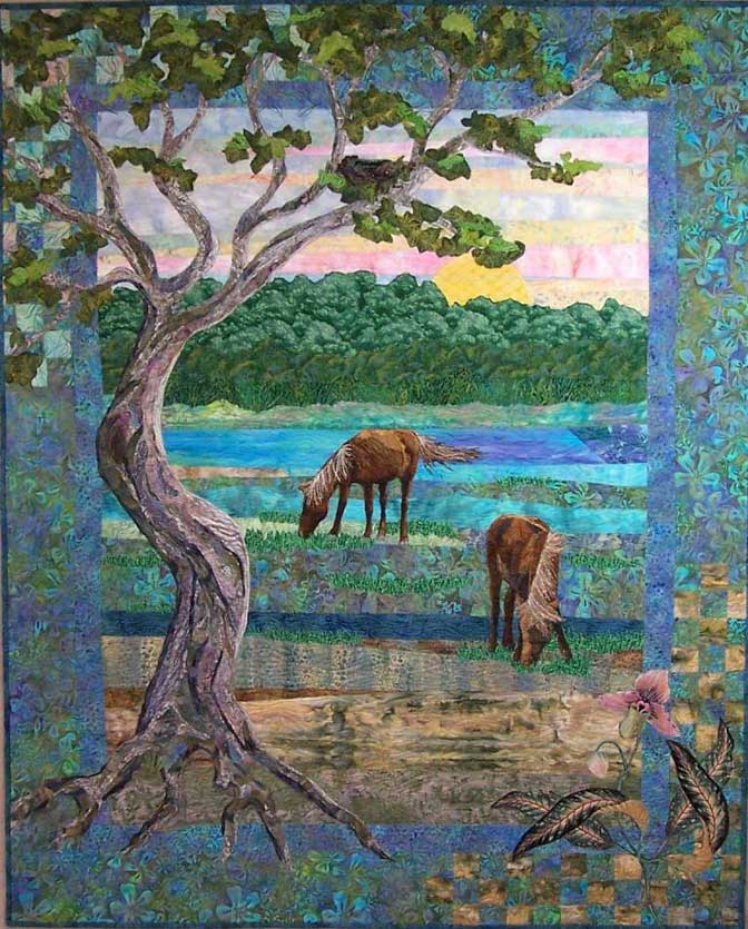 Duke School Of Nursing >> Fiber Art Quilts-Landscape